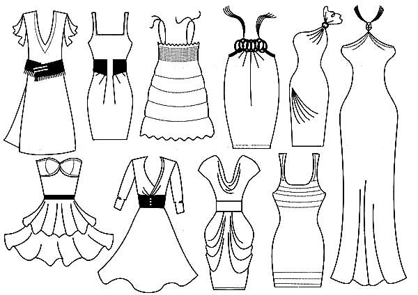 311 Best Fashion Coloring Pages for Adults images | Coloring pages ... | 424x600