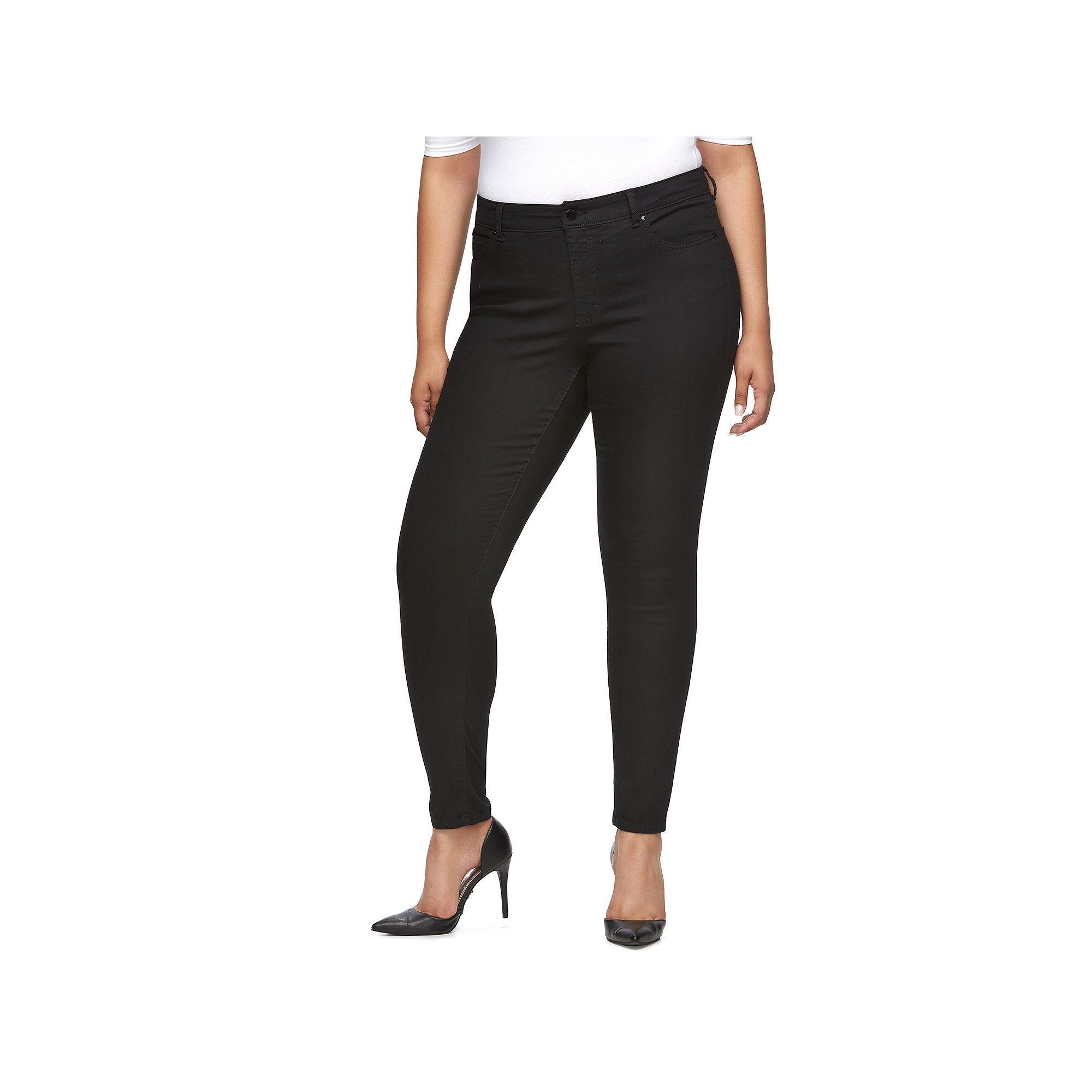 Plus Size Jennifer Lopez Modern Fit Skinny Jeans, Women's, Size ...