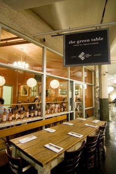 The Green Table Green Table Cafe Design Chelsea Market