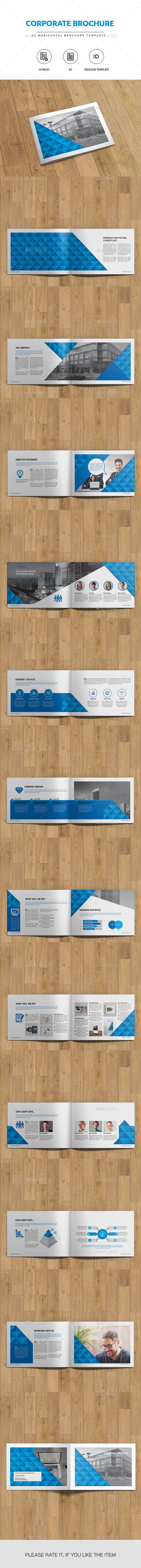 A5 Business Brochure | Indesign Template