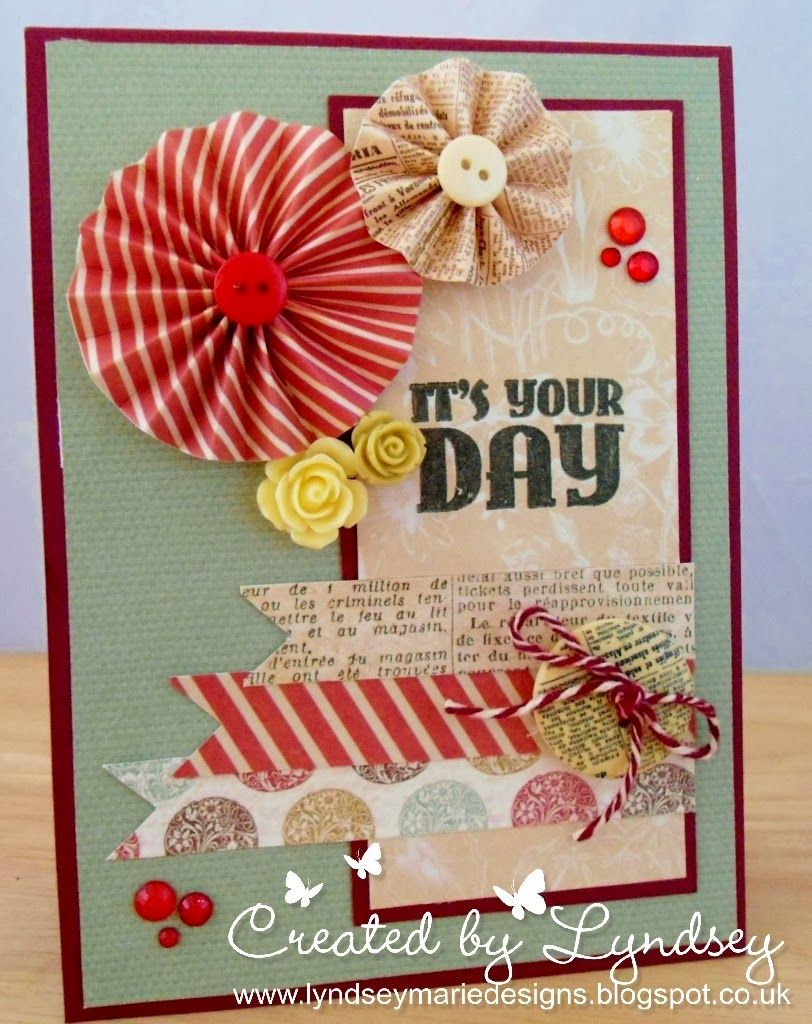 Card Made With Curiosity Corner Accordion Stamps And More Cards