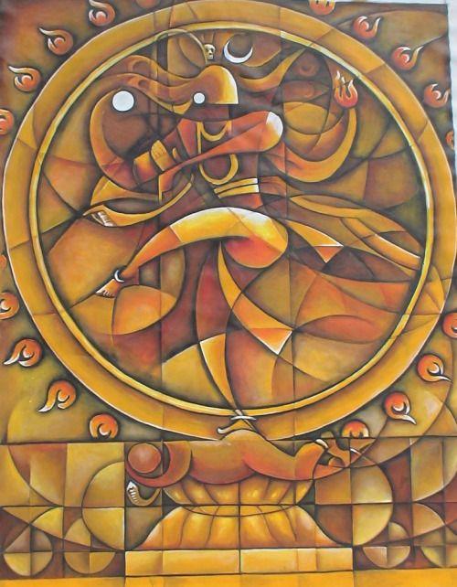 Mahashiv Sadashiv   Pinturas abstractas, Pinturas, Arte