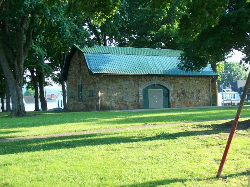 Mound Park building Portsmouth Ohio Portsmouth ohio