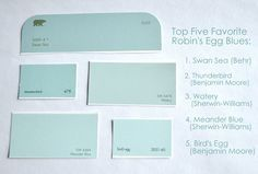The Quest for the Perfect Robin's Egg Blue images