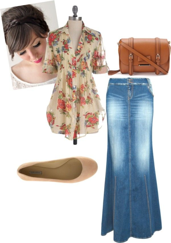"""Modest Summer"" by christianmodesty ❤ liked on Polyvore"