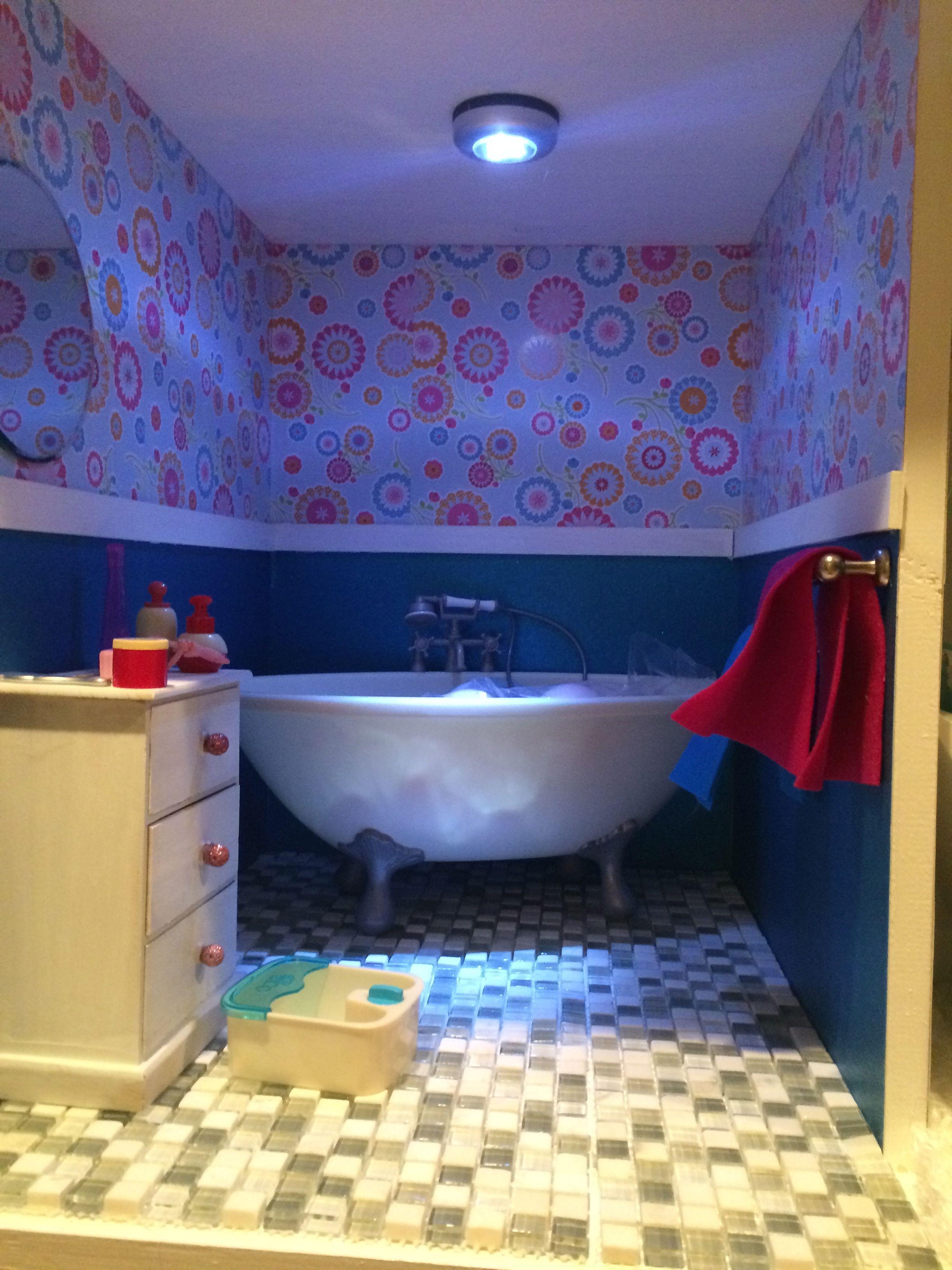 bathroom-american girl doll house   American girl doll house ...