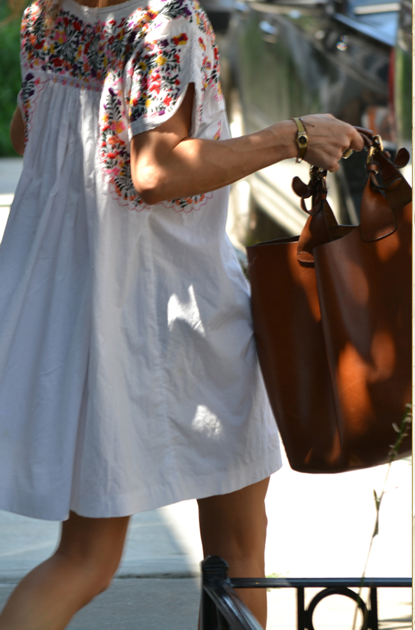 love the bag and the dress