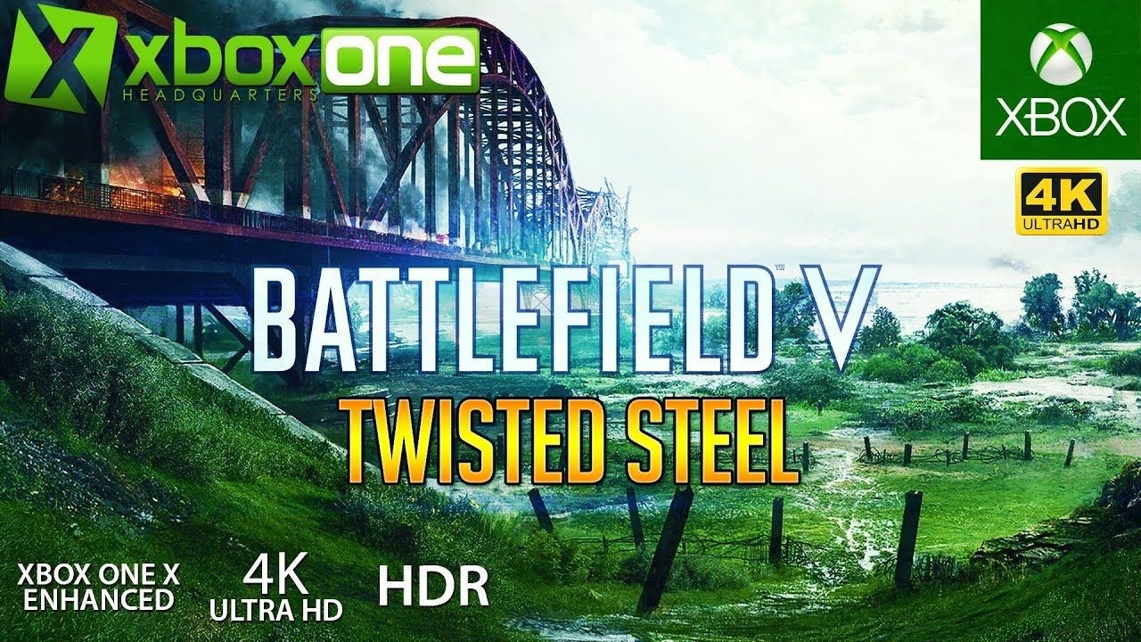 Xboxone 4k Battlefield 5 Xbox One X Gameplay Twisted Steel