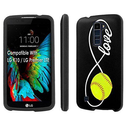 the best attitude 3d3d1 017ae Buy LG [Premier] [K10] Phone Case [SlickCandy] [Black] Hard ...