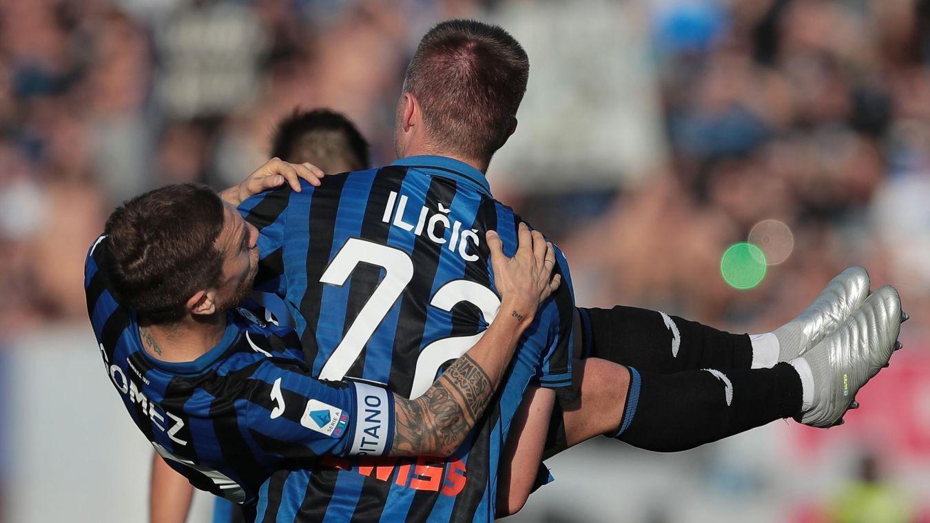 Serie A Goleada Atalanta, solo pareggi per Juve, Inter e