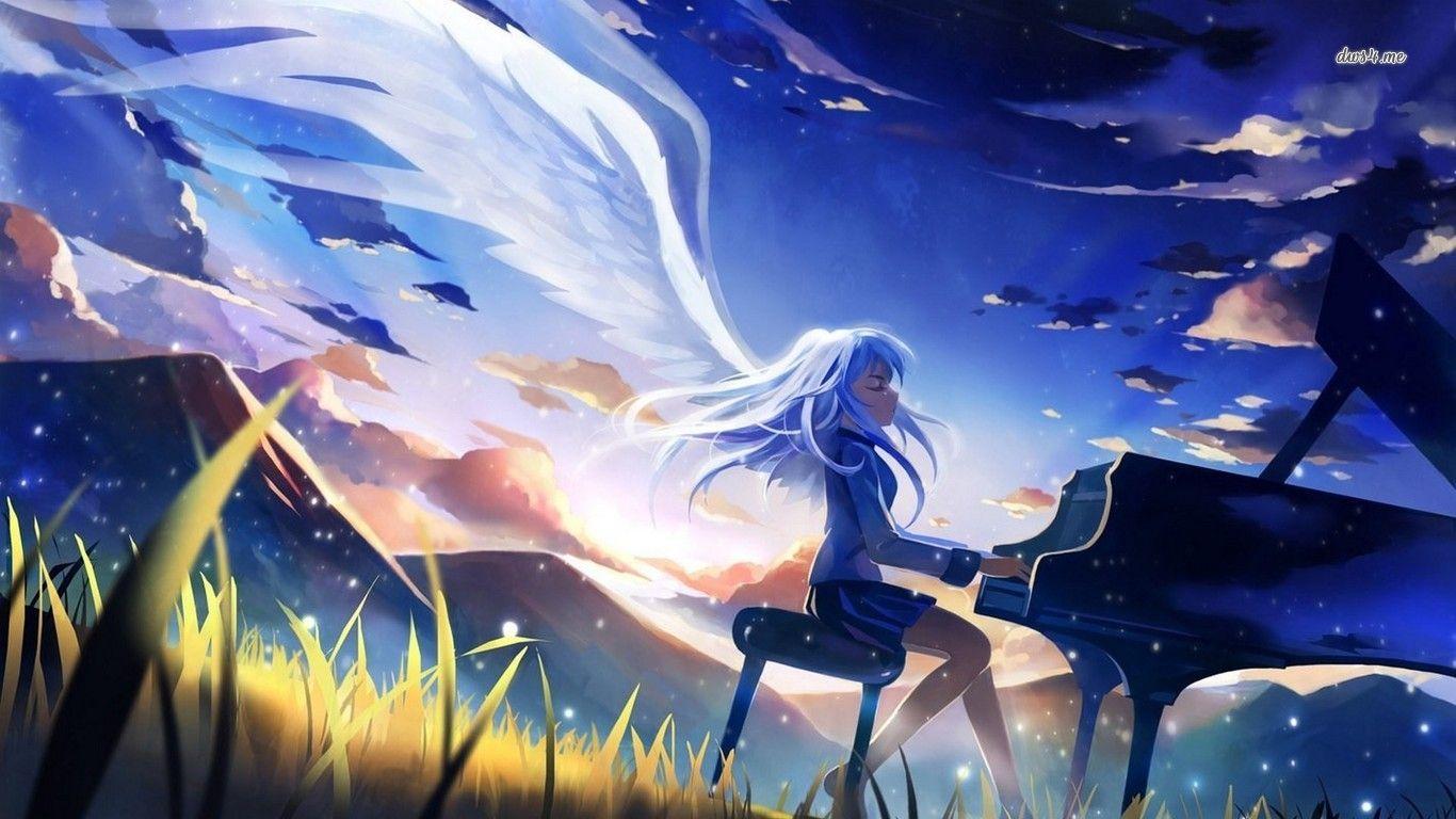 Angel Beats Wallpaper 1366x768 Angel Beats Anime Angel Beats Anime Wallpaper