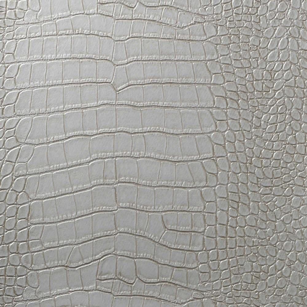 Crocodile Skin Effect Wallpaper in Black and Gold