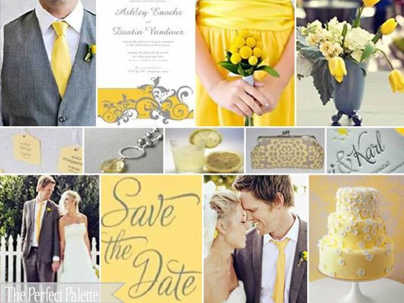 light blue and yellow wedding ideas | Matchmaker Matchmaker for ...
