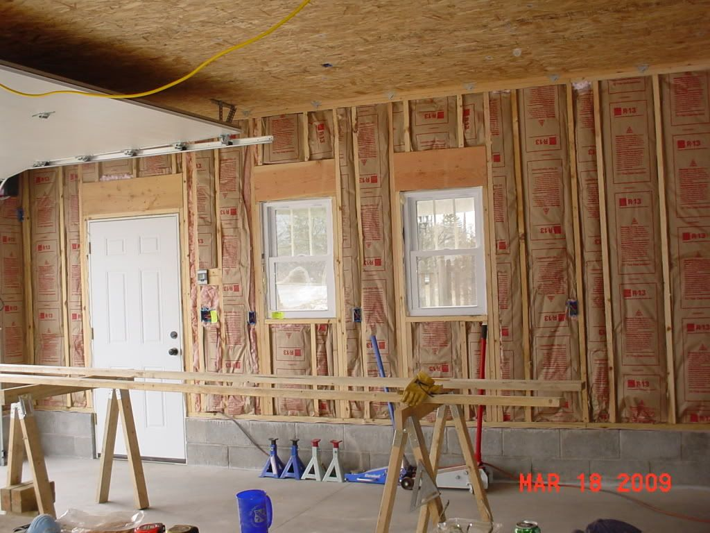 Osb Ceiling Paint Each Section Prime With Kilz Before