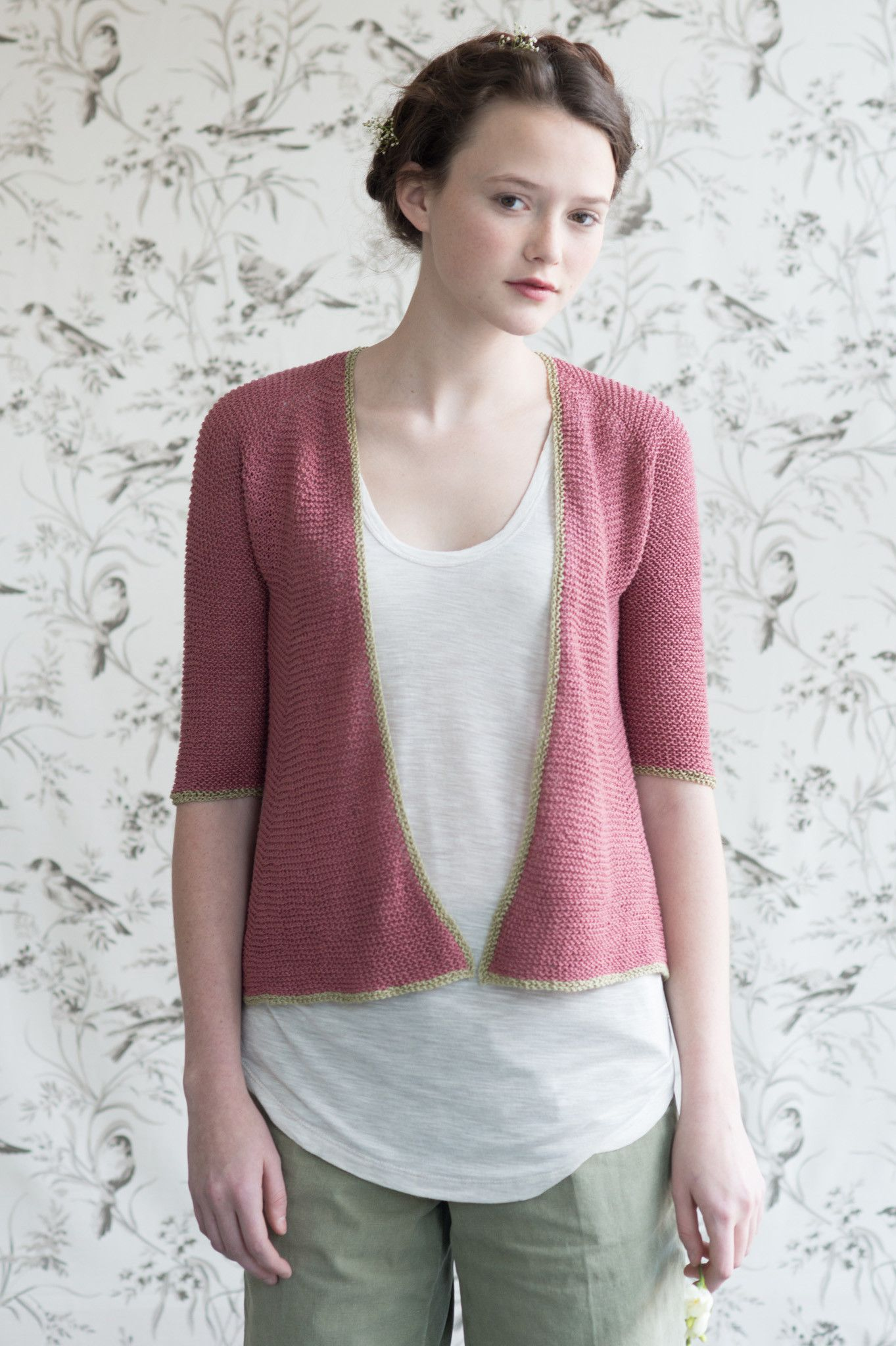 petunia by pam allen / quince & co sparrow in nannyberry and little ...