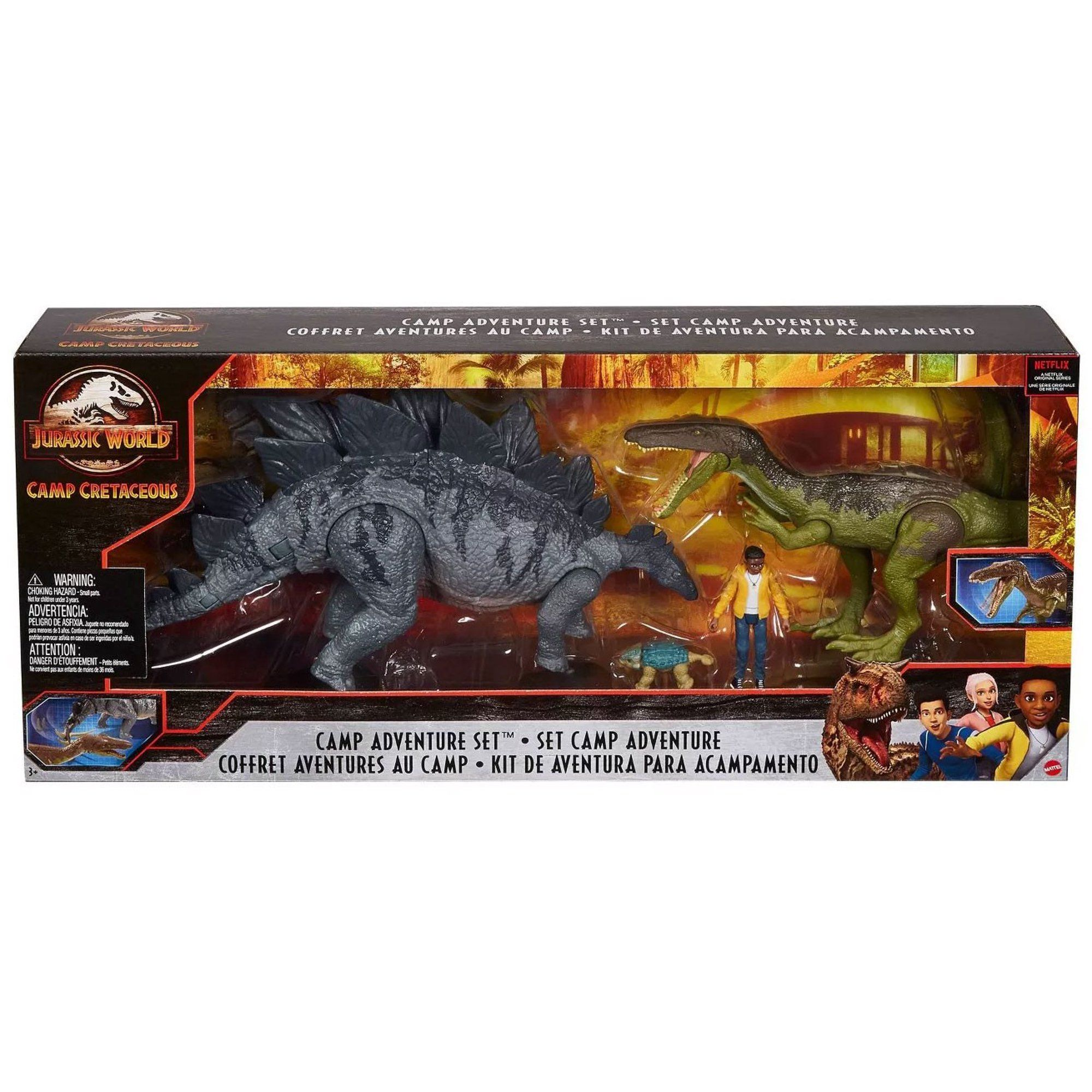 Jurassic World Camp Cretaceous Camp Adventure Set Walmart Com In 2021 Jurassic World Dinosaur Toys Jurassic Park Toys Jurassic World