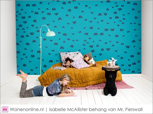 Isabelle McAllister behang van Mr. Perswall