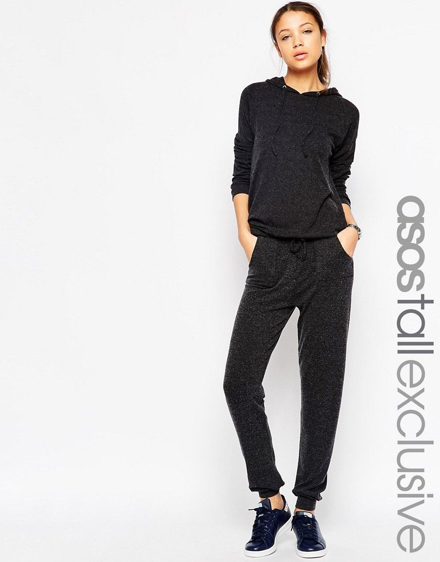 ASOS DESIGN Tall lounge jogger - Black Asos Tall Wi9ohN4