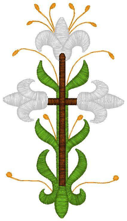 Mega Vintage Ecclesiastical Design 522 Embroidery Design | Patrones ...