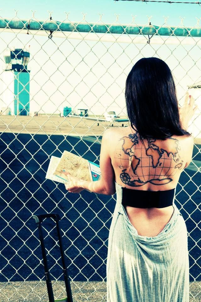 My world map tattoo tattoos pinterest map tattoos tattoo my world map tattoo gumiabroncs Image collections