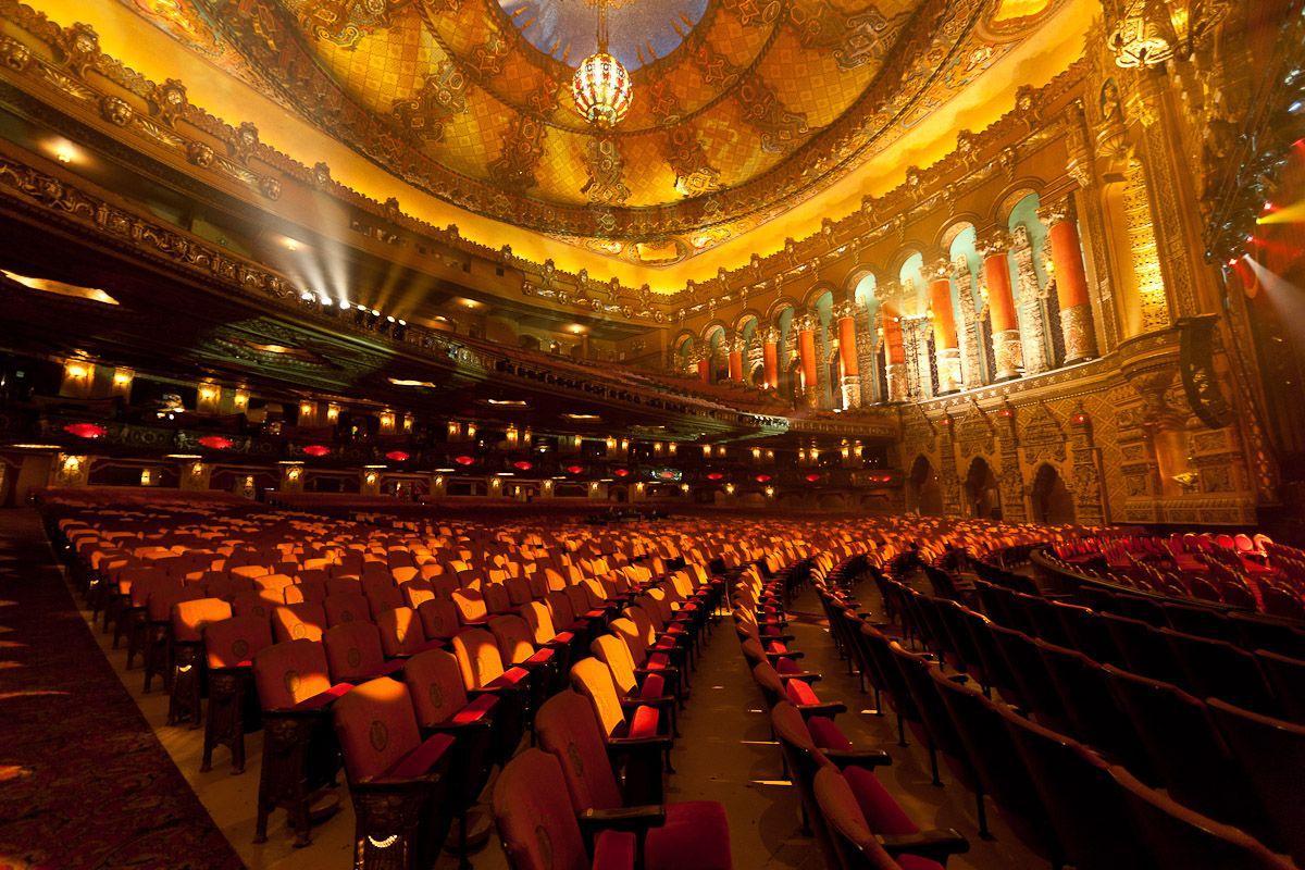 Detroit fox theater inside detroit history detroit