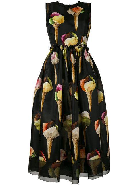 90e18bab DOLCE & GABBANA Ice-Cream Print Dress. #dolcegabbana #cloth #dress ...