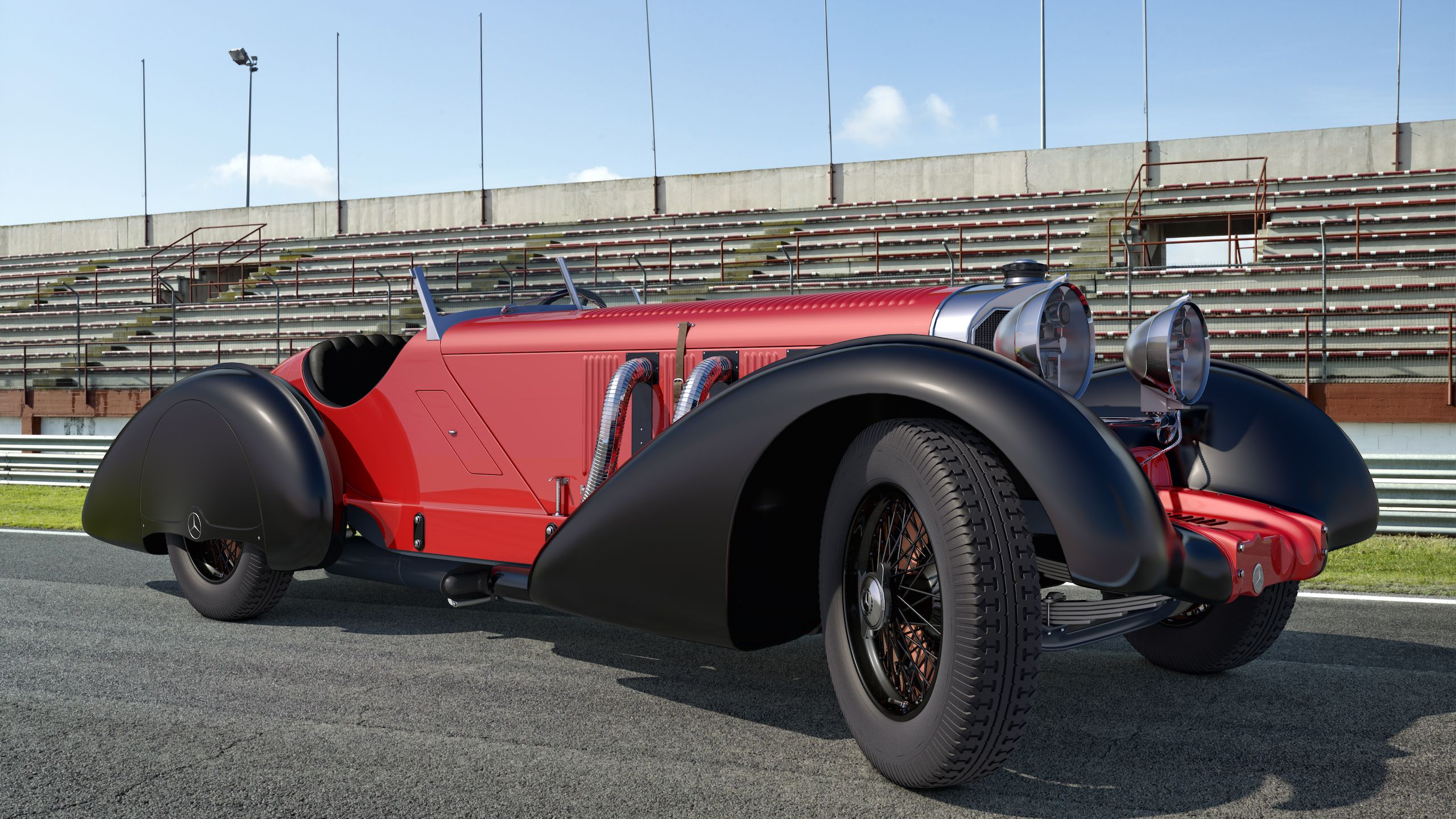 1930 Mercedes Benz 710 Ssk Trossi Roadster By Samcurry Deviantart Com On Deviantart Mercedes Benz Roadsters