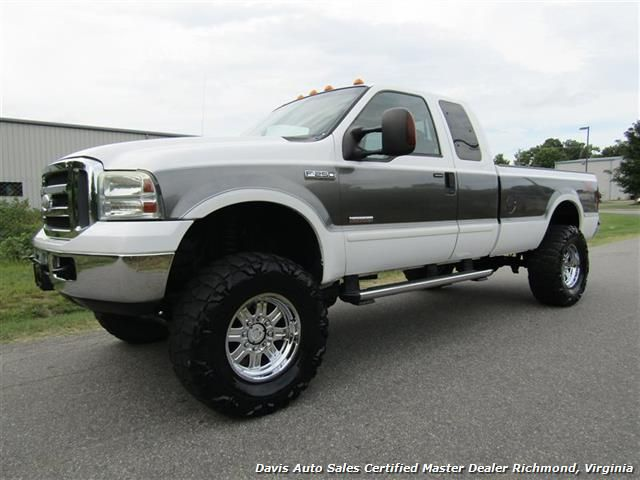 2005 Ford F 250 Super Duty Xlt Fx4 Off Road Diesel Lifted 4x4
