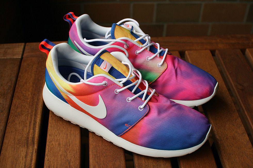 Nike Roshe Run Tie Dye European Limited