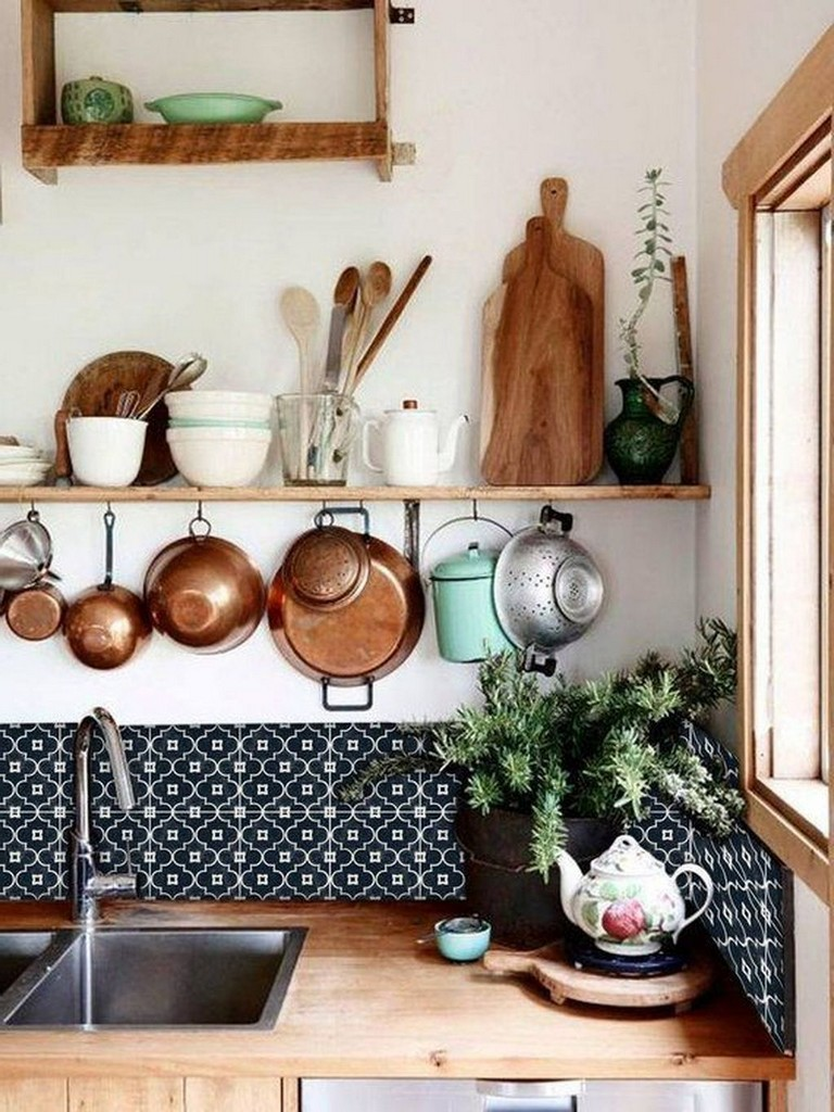 50 best modern bohemian style kitchen design ideas with images bohemian kitchen bohemian on boho chic kitchen table ideas id=73031