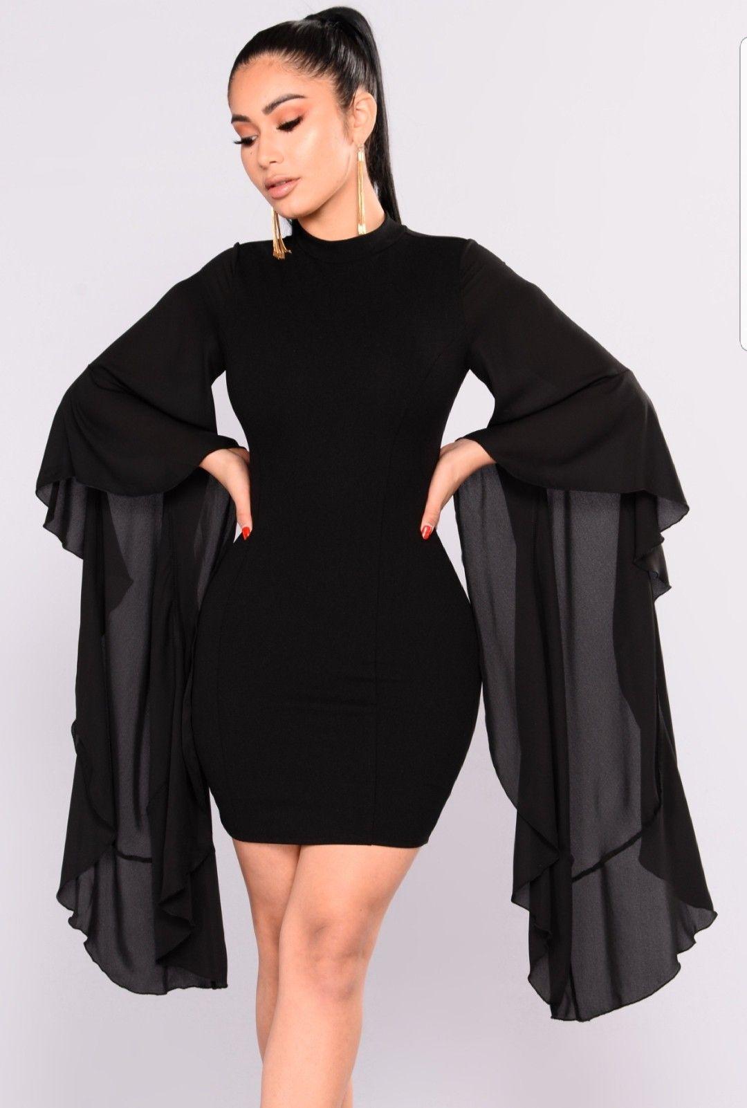Extra Af Birthday Dress Fashionnova Black Dress White Long Sleeve Dress Black Attire