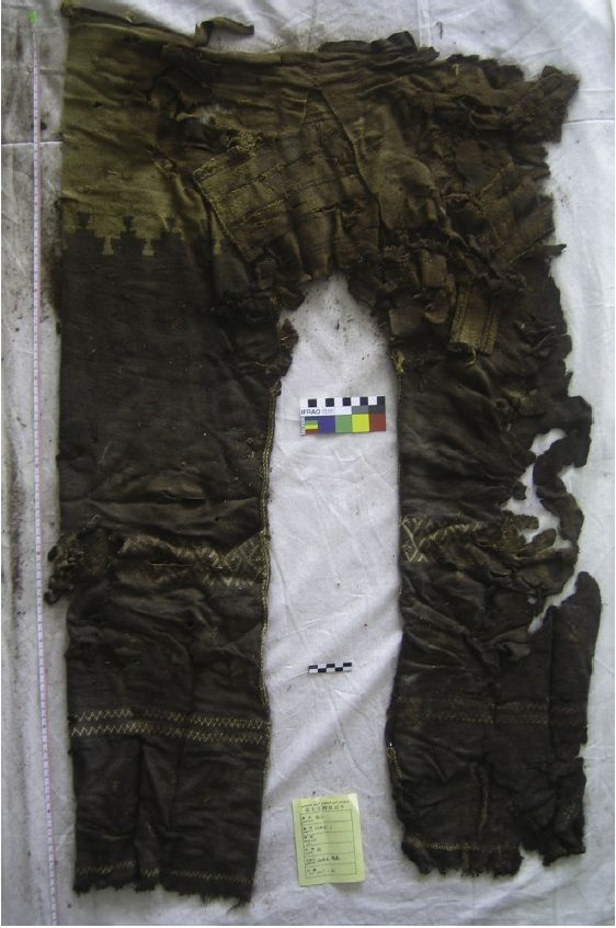 More Details On The Turfan Trousers Not Scythian But