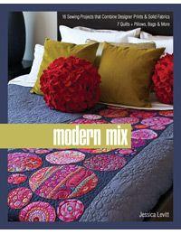 I love this bedquilt! (From Modern Mix by Jessica Levitt)