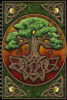 Celtic Tree Of Life Tattoos