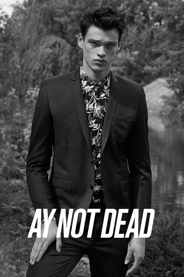 Filip Hrivnak for A.Y. NOT DEAD S/S16 AD CAMPAIGN