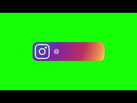 Green Screen Instagram Youtube Facebook And Instagram Logo Youtube Banner Backgrounds New Instagram Logo