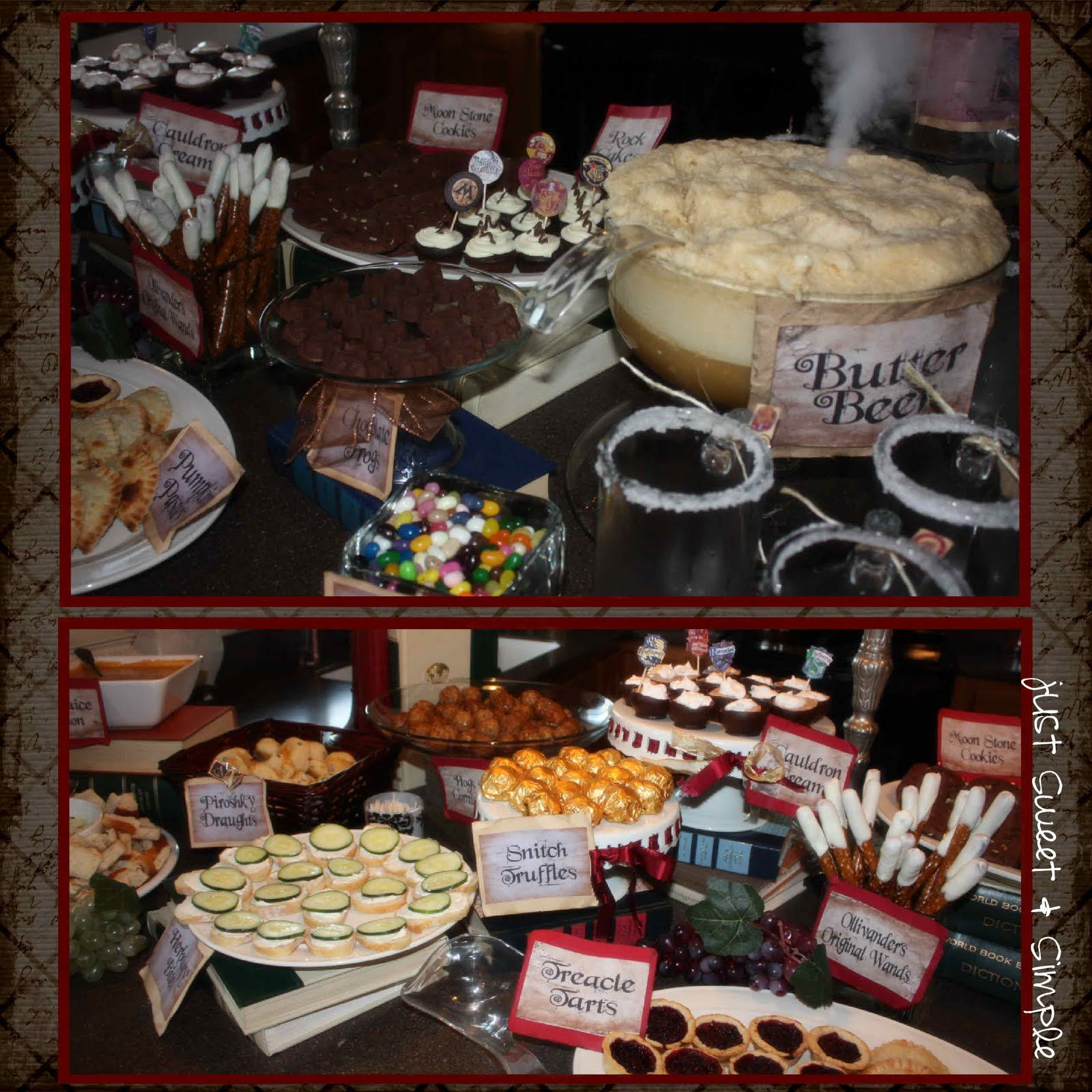 Harry potter food ideas harry potter party party and gift ideas harry potter food ideas harry potter party forumfinder Images