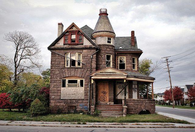 Detroit 10/09 | Decay | Old abandoned houses, Abandoned detroit