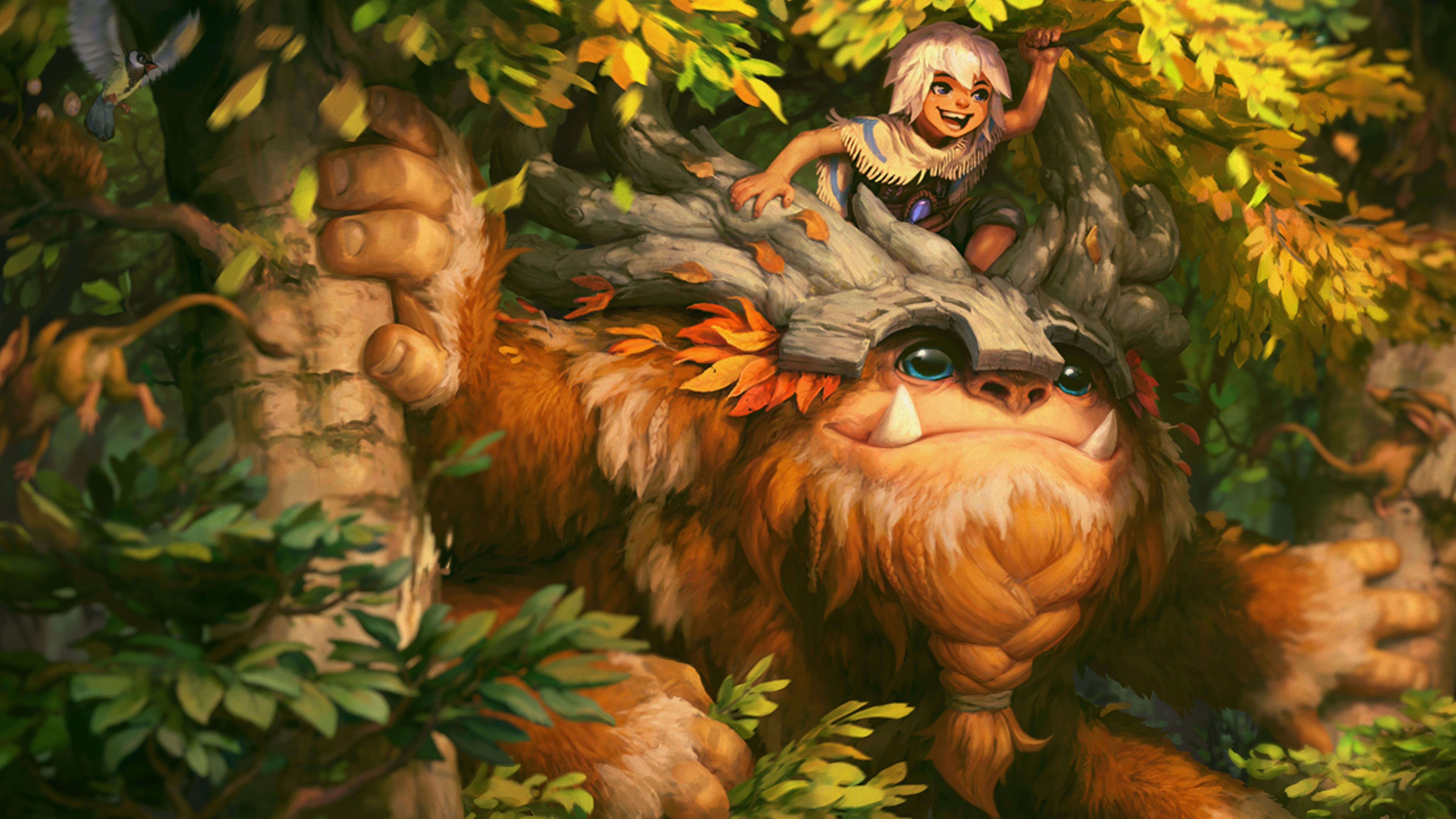 Sasquatch Nunu New Splash Art Rework Update Lol League Of Legends Lol Nunu League Of Lege League Of Legends Lol League Of Legends League Of Legends Characters