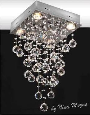 Pin de desaun wallace en vintage candelabros de cristal for Acabados apartamentos pequenos