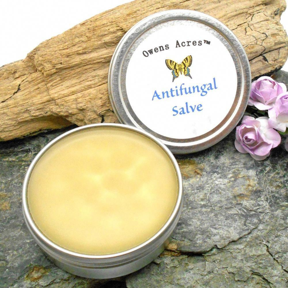 Anti-Fungal Salve For Athletes Foot And Ringworm 2 Oz. In