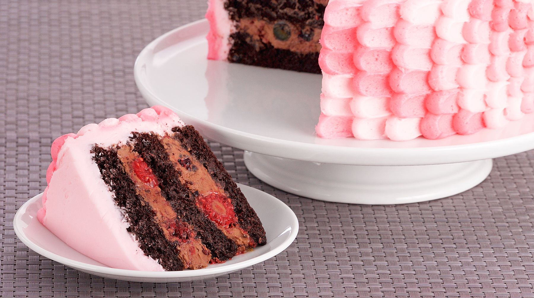 Bake with anna olson recipes chocolate berry cake with italian bake with anna olson recipes chocolate berry cake with italian buttercream asian food forumfinder Gallery