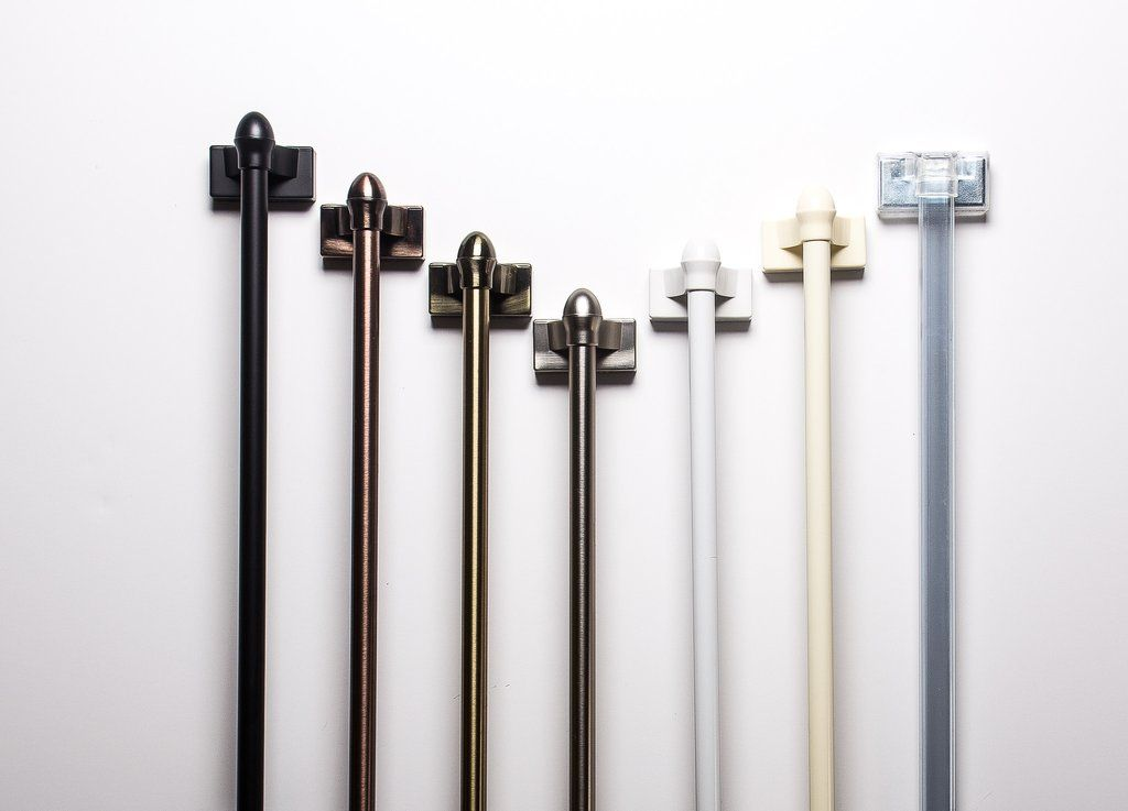 Enjoy FREE SHIPPING When You Order One Of These Rods! MagneRod® Is The  Original Magnetic Curtain Rod That Can Be Used On Steel Doors, Metal  Windows, ...