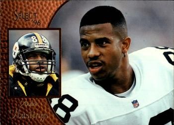 1996 Select #93 Andre Hastings Front