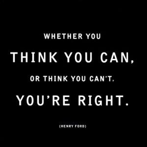 I need to keep reminding myself this, as finals approach: You can do this.
