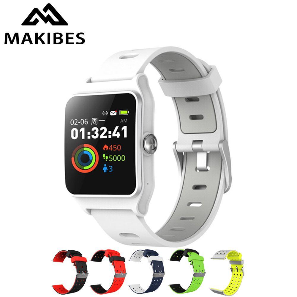 Makibes BR3 Smart Watch 17 kinds Sports Strava Wristband