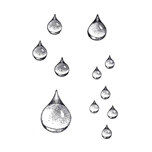 Drawing A Teardrop: Raindrop Set (CM-T10) ~ Four Pieces