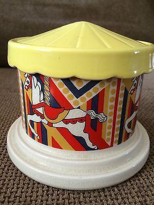 Carlton ware money box very rare #carousel ~ with #damage ( lqqk