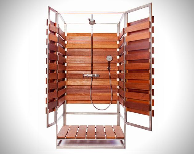 Pre Fab Solo Outdoor Shower By Oborain Outdoor Shower Outdoor Bathrooms Outdoor Baths