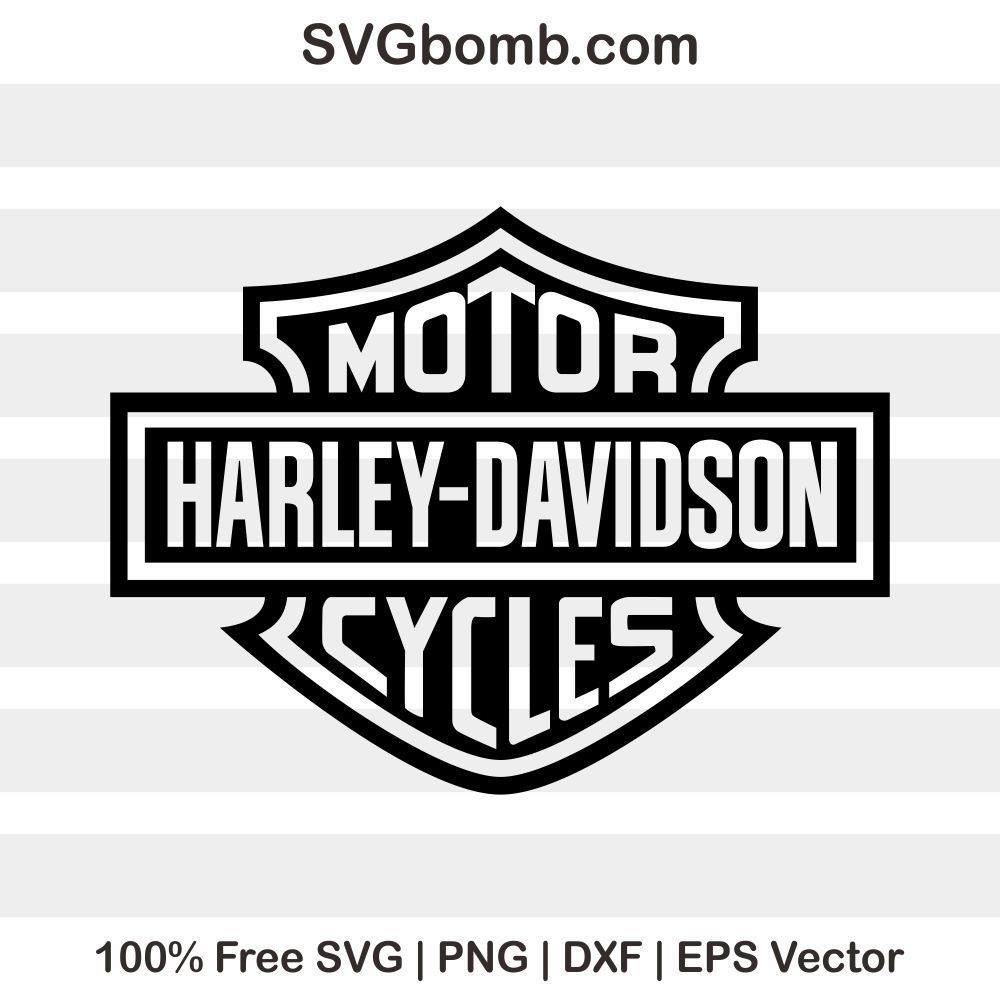 Free Harley Davidson Svg Harley Davidson Svg Harley Davidson Logo